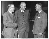 view (left to right): Frederick Amasa Coller (1887-1964), Claude Schaeffer Beck (1894-1971), and Cassius James Van Slyke (b. 1900) digital asset number 1