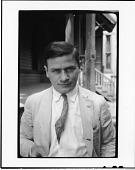 view Scopes Trial: E. Haldeman-Julius (close-up), standing in front of Defense Mansion, Dayton Tennessee digital asset number 1