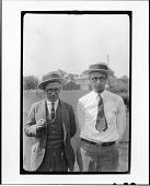 view Tennessee v. John T. Scopes Trial: George Washington Rappleyea (left) and John Thomas Scopes (right) digital asset number 1