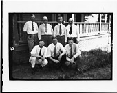 view Scopes Trial: Scientists Gathered at Defense Mansion, Dayton, Tennessee digital asset number 1