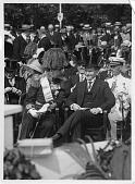 view Prince Gustaf Adolf of Sweden (left) and U.S. President Calvin Coolidge (right) digital asset number 1