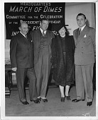 view (left to right): Morris Fishbein (1889-1976); Felix Joel Underwood (1882-1959); Anna Mantel Fishbein, wife of Morris Fishbein; and Keith Morgan digital asset number 1