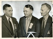 view (left to right) Dr. Edward B. Greene, Dr. Horace B. English, and Dr. Douglas H. Fryer digital asset number 1
