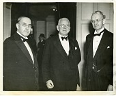 view John Campbell Merriam (left), Richard Gregory (center), and Edwin Grant Conklin (right) digital asset number 1