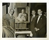 view Ivor Griffith (left) with Furman J. Finck (center) and Philip H. Van Itallie (right) digital asset number 1