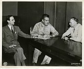 view Sir James Chadwick (left), Major General Leslie R. Groves (center), and Dr. Richard Chace Tolman (right) digital asset number 1