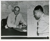 view Composite photograph of Richard Chace Tolman and Major General Leslie R. Groves digital asset number 1