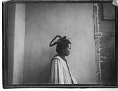 view Woman with headdress in Zhenyuan Xian, Gansu digital asset number 1