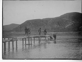view China, Miscellaneous Scenes - Men on pier digital asset number 1
