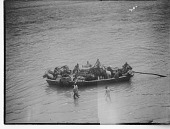 view China, Miscellaneous Scenes -Boat full of people and supplies digital asset number 1