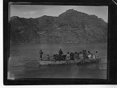 view Boat full of men, supplies, and animals digital asset number 1