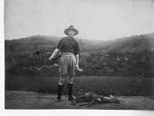 view Arthur de C. Sowerby with his deer, shot in Gansu digital asset number 1