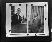 view Arthur Parker Hitchens (left) and unidentified man (right) digital asset number 1