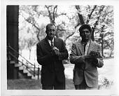 view John Peabody Harrington (left) and Chief Wi'ishi of Mission Indians, California (right) digital asset number 1