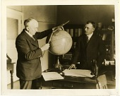 view Commander Nicholas Hunter Heck (left) and Frank Neumann (right) of the U.S. Coast and Geodetic Survey digital asset number 1
