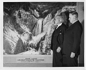 view William Henry Jackson (left) and Harold LeClair Ickes (right) digital asset number 1