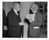 view Frank Baldwin Jewett (left) with James McKeen Cattell (right) digital asset number 1