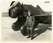 view William Ellsworth Kepner (1893-1982), in front of airplane digital asset number 1