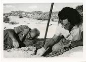 view Mary Douglas Nicol Leakey (1913-1996) and her husband Louis Seymour Bazett Leakey (1903-1972) digital asset number 1