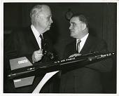 view Senator Robert Samuel Kerr (left) and James Edwin Webb (right) digital asset number 1