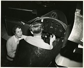 view left to right: Anesia Pinheiro Machado (1902-1999) and Pilot Dean E. Robinson digital asset number 1
