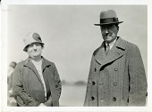 view left to right: Ada Gertrude Little Merriam (1874-1940) and John Campbell Merriam (1869-1945) digital asset number 1