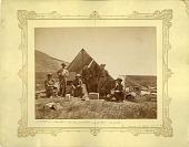 view Hayden Survey Party in Camp at Ogden, Utah 1872 digital asset number 1