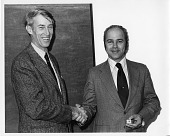 view Records digital asset: Edward Kohn with David Challinor, circa 1970s. [Image no. SIA2008-6152]