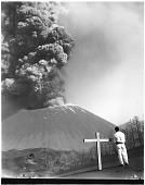 view Cross Erected near Paricutin Volcano digital asset number 1