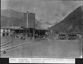 view Railroad Station in Huigra, Ecuador , 1923-1924 digital asset number 1