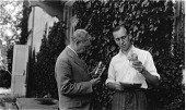view Edwin Emery Slosson (left) and O. E. May (right) digital asset number 1