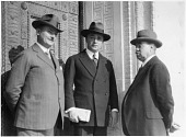 view left to right - William Hale, Frederick Bergins, Edwin Emery Slosson digital asset number 1
