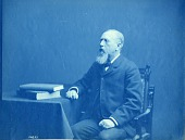 view William H. Dall Sitting at a Desk digital asset number 1