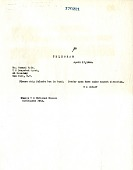 view Telegram from Herbert S. Bryant to Howard Fyfe digital asset number 1