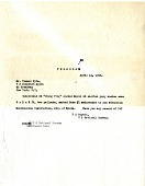 view Telegram from Herbert S. Bryant to Dispatch Agent digital asset number 1