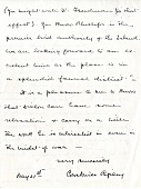 view Letter from Mrs. Constance Ripley to Herbert Friedmann, page 2 digital asset number 1