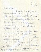 view Letter to Herbert Friedmann from S. Dillon Ripley digital asset number 1