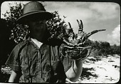 view Dr. Robert Hiatt Holding a Coconut Crab digital asset number 1