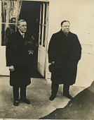 view U.S. President Howard Taft and U.S. President-Elect Woodrow Wilson digital asset number 1