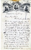 view Letter from P. T. Barnum to Spencer Baird digital asset number 1