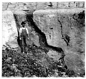view Devonian Solution Channels near Clarksville, Missouri digital asset number 1