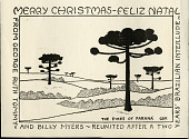 view George Sprague Myers Papers digital asset: Myers Family Christmas Card, undated (Image no. SIA2011-0015)