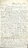 view Letter from Samuel Morse to Alfred Vail, January 15, 1857 digital asset number 1