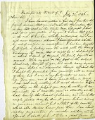 view Letter from Samuel Morse and Alfred Vail to Joseph Henry, July 22, 1846 digital asset number 1