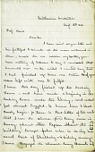 view Letter from Solomon G. Brown to S. F. Baird, August 12, 1862 digital asset number 1