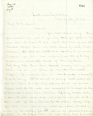 view Letter from Solomon G. Brown to S. F. Baird, August 6, 1864 digital asset number 1