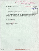 "view Letter from S. D. Ripley to A. Wetmore, December 3, 1971, on the ""Castle"" Tower Owls digital asset number 1"