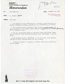 view Letter from A. Wetmore to S. D. Ripley, November 15, 1971 digital asset number 1