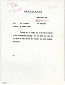 view Letter from S. D. Ripley to A. Wetmore November 4, 1971 digital asset number 1