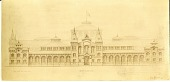 view Arts and Industries Building Drawing 1878 digital asset number 1